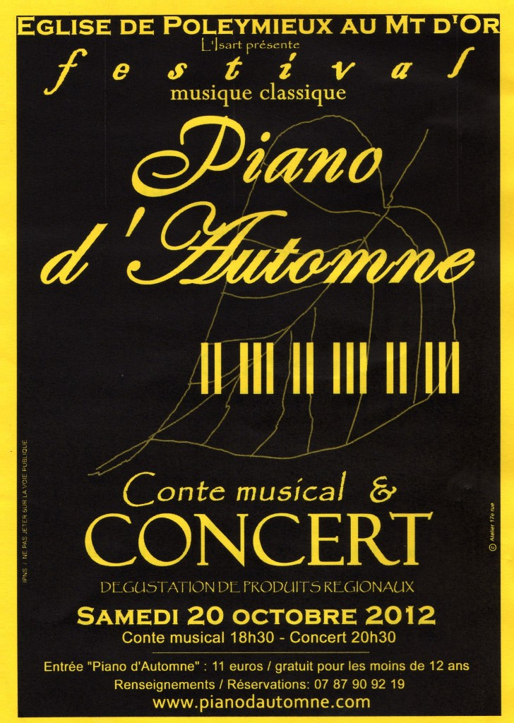 "Conte musical et concert ""musique classique """