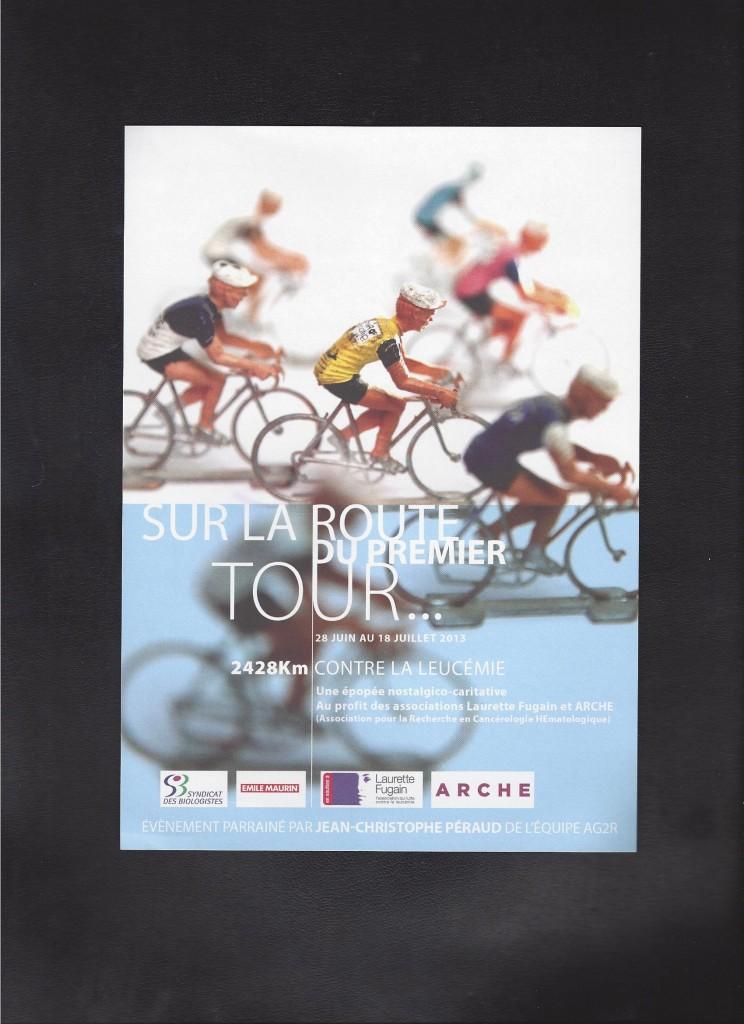 Le tracée du 1 er Tour de France , comme en 1903 ....