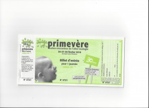 Invitation Primevere 2016
